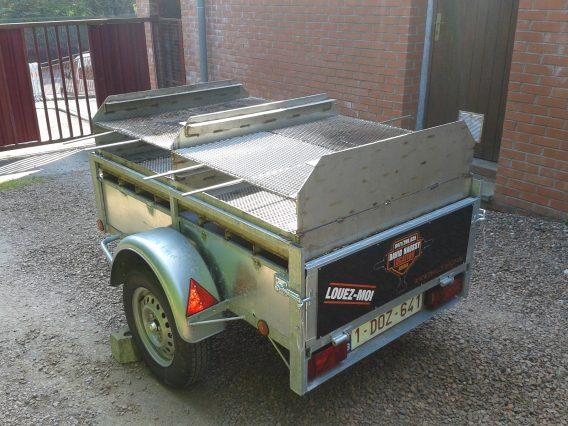 Remorque barbecue
